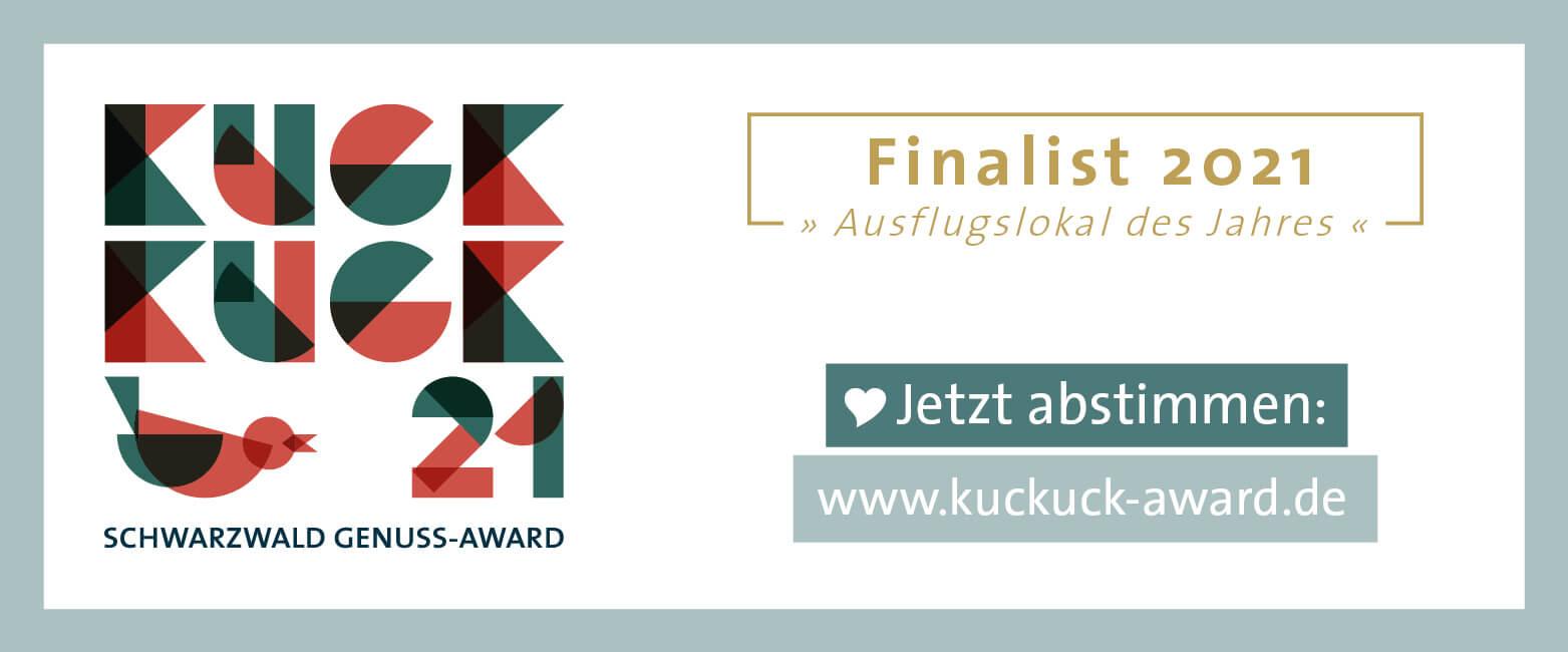 Kuckuck Award 2021 Finalabstimmung